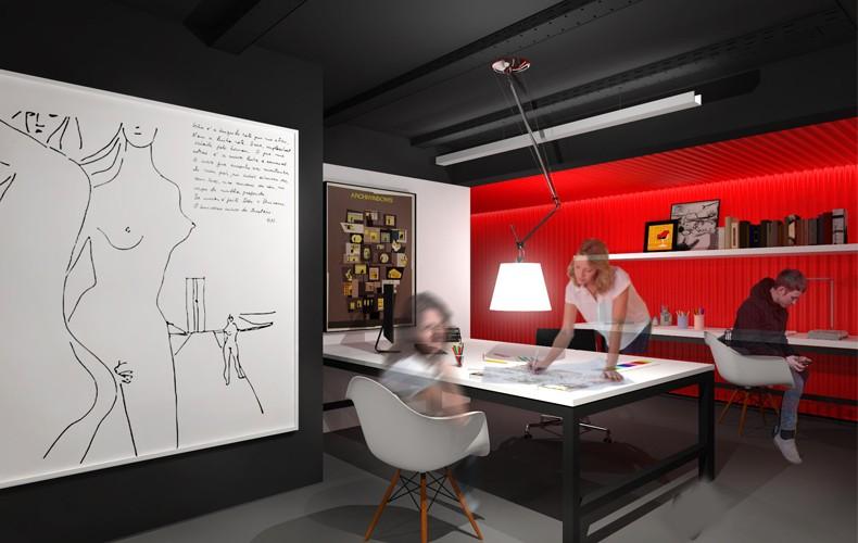 Edifício Grupo VAEA - Interiores