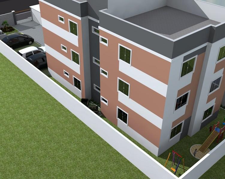 Edifício Residencial - kitinetes