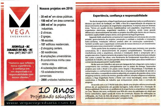 Jornal A NOTÍCIA - 11/12/2010