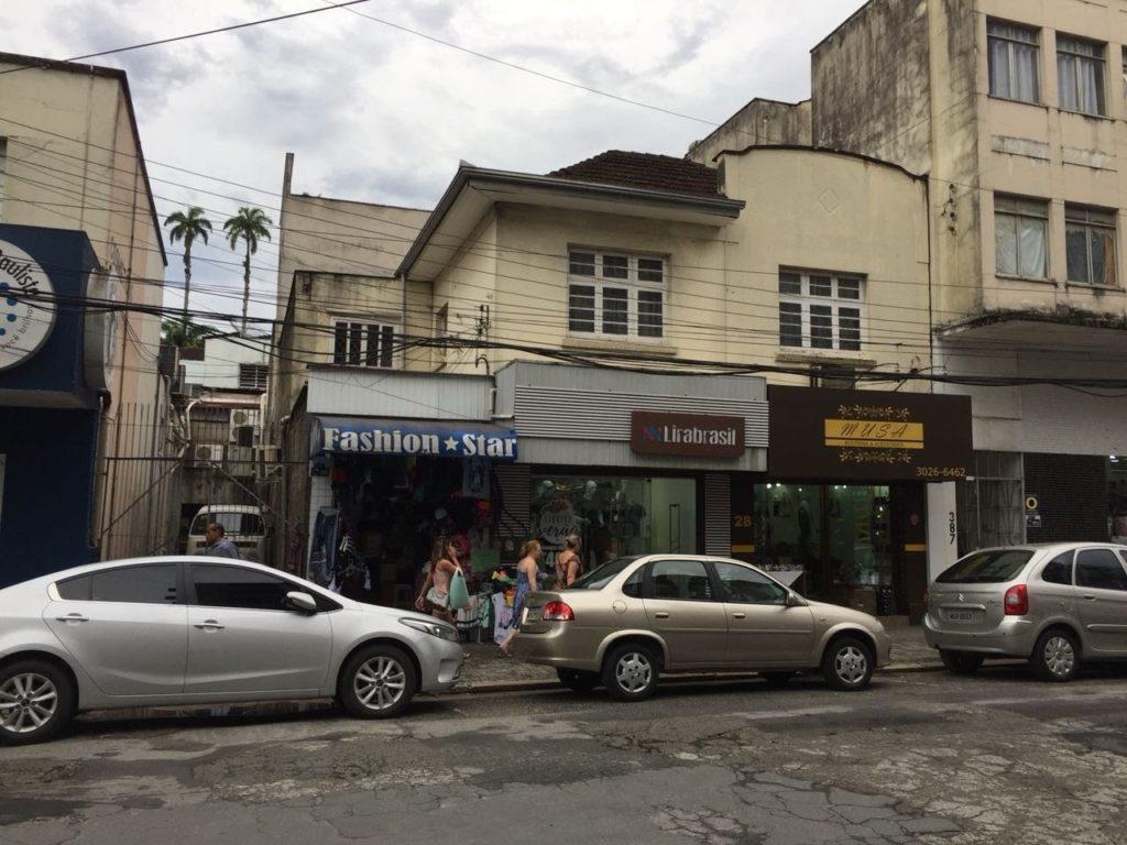 Restauro Edificação Comercial