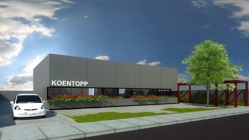 Sede Construtora Koentopp